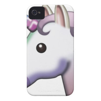 Beautiful Unicorn Emoji iPhone 4 Case