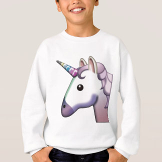 Beautiful Unicorn Emoji Sweatshirt
