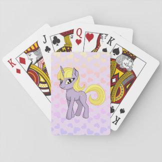 Beautiful Unicorn Playing Cards