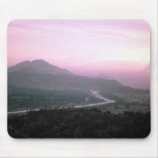 Beautiful Unsual Pink Sky Mouse Pad