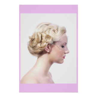 Beautiful Updo Poster