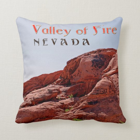 Beautiful Valley of Fire, NV Throw Pillow! Throw Pillow