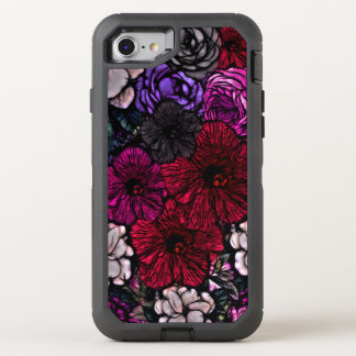Beautiful Vibrant Flowers OtterBox Defender iPhone 8/7 Case