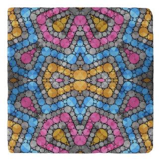 Beautiful Vibrant Shiny Abstract Trivet