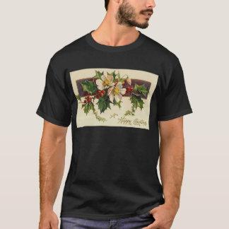 Beautiful Victorian Vintage Holidays Christmas T-Shirt