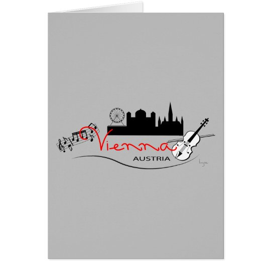 Beautiful Vienna, Austria Card