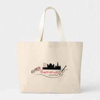 Beautiful Vienna, Austria Large Tote Bag