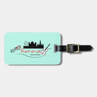 Beautiful Vienna, Austria Luggage Tag