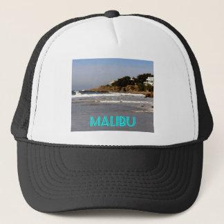 Beautiful view from Sea Level Drive, Malibu, CA Trucker Hat