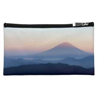 Beautiful view Mt. Fuji, Japan, Sunrise Cosmetic Bags