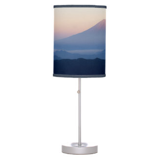 Beautiful view Mt. Fuji, Japan, Sunrise Desk Lamp