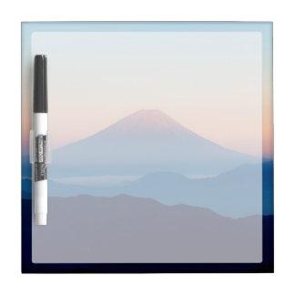 Beautiful view Mt. Fuji, Japan, Sunrise Dry-Erase Boards