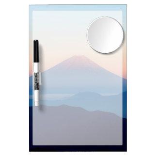 Beautiful view Mt. Fuji, Japan, Sunrise Dry Erase Boards
