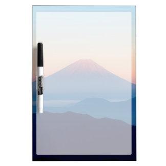 Beautiful view Mt. Fuji, Japan, Sunrise Dry Erase Whiteboard