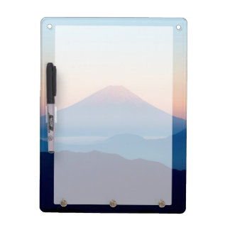 Beautiful view Mt. Fuji, Japan, Sunrise Dry-Erase Whiteboards