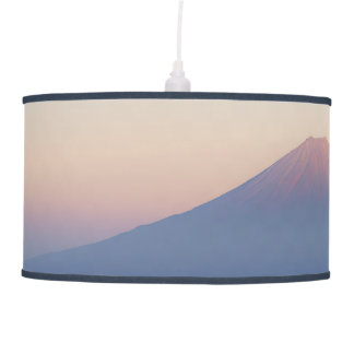 Beautiful view Mt. Fuji, Japan, Sunrise Hanging Lamp