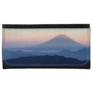Beautiful view Mt. Fuji, Japan, Sunrise Wallet