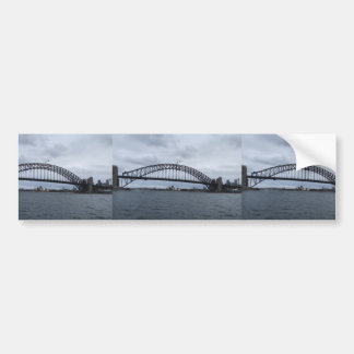 Beautiful View Of The Bridge In Sydney Australia Bumper Sticker