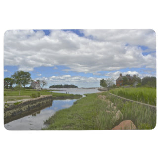 Beautiful View Of Thimble Islands Floor Mat