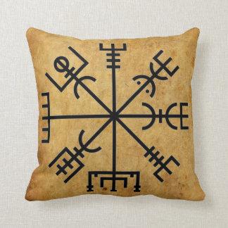 Beautiful Viking Compass Pillow! Throw Pillow