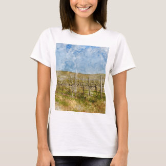 Beautiful Vineyard in Napa Valley T-Shirt