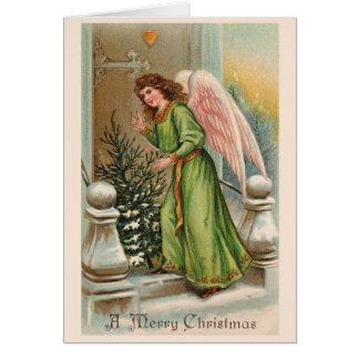 Beautiful Vintage Christmas Classic Card