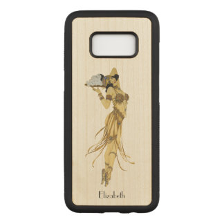 Beautiful Vintage Dancing Retro Girl Carved Samsung Galaxy S8 Case