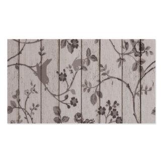Beautiful vintage elegant floral birds butterflies pack of standard business cards
