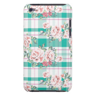 Beautiful Vintage Flowers Rose Pattern Barely There iPod Case
