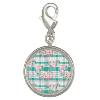 Beautiful Vintage Flowers Rose Pattern Charm