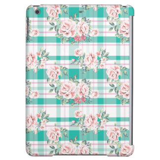 Beautiful Vintage Flowers Rose Pattern Cover For iPad Air