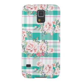 Beautiful Vintage Flowers Rose Pattern Galaxy S5 Cover
