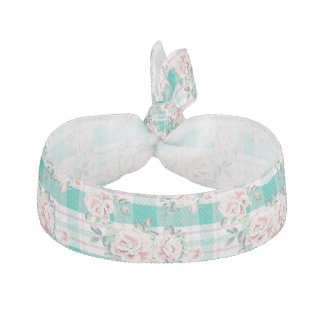 Beautiful Vintage Flowers Rose Pattern Hair Tie