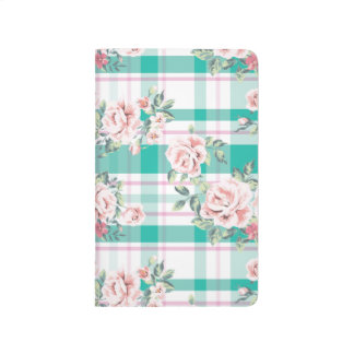 Beautiful Vintage Flowers Rose Pattern Journal
