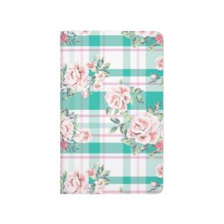 Beautiful Vintage Flowers Rose Pattern Journals