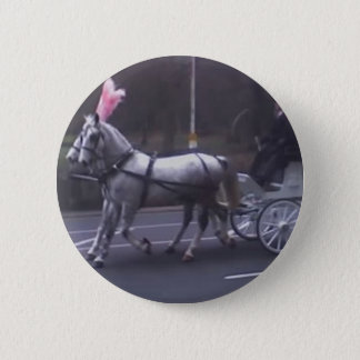 Beautiful Vintage Funeral 2 Inch Round Button
