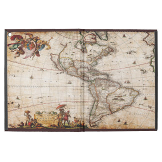 Beautiful Vintage Old World Map of North America