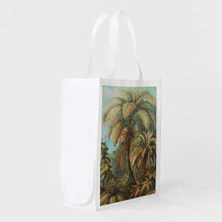 Beautiful Vintage Painted Nature Reusable Grocery Bags