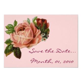 Beautiful Vintage Roses Invitations