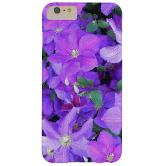 Beautiful Violet Clematis Barely There iPhone 6 Plus Case