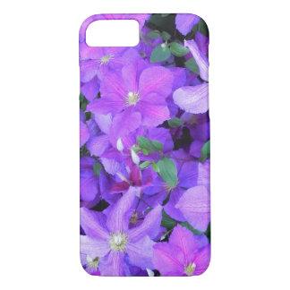 Beautiful Violet Clematis iPhone 8/7 Case