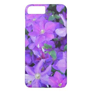 Beautiful Violet Clematis iPhone 8 Plus/7 Plus Case