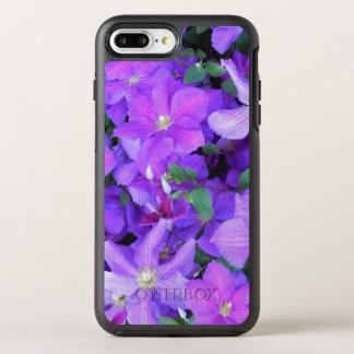 Beautiful Violet Clematis OtterBox Symmetry iPhone 8 Plus/7 Plus Case