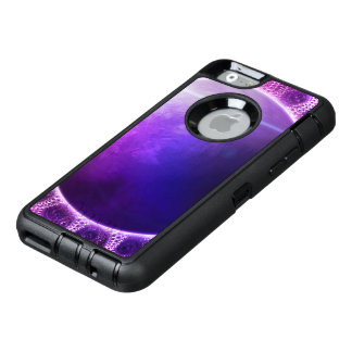 Beautiful Violet Deep Dream Fractal Mandala OtterBox Defender iPhone Case