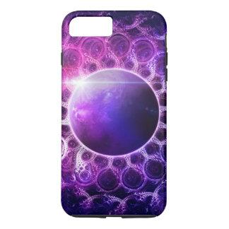 Beautiful Violet Planet Deep Dream Fractal Mandala iPhone 8 Plus/7 Plus Case
