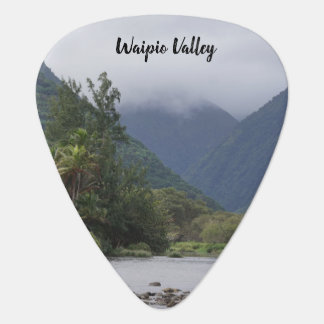 Beautiful Waipio Valley Guitar Pick