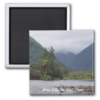 Beautiful Waipio Valley Magnet