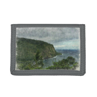 Beautiful Waipio Valley Trifold Wallet