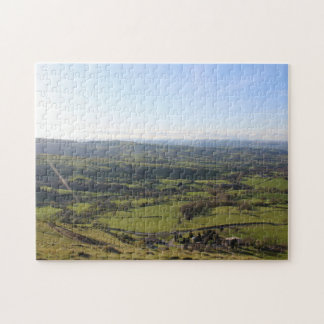 Beautiful Wales Hill View Landscape Welsh Horizon Jigsaw Puzzle