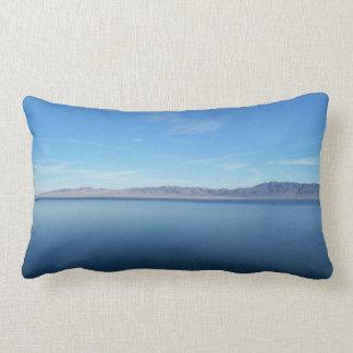 Beautiful Walker Lake Two Photos Lumbar Pillow